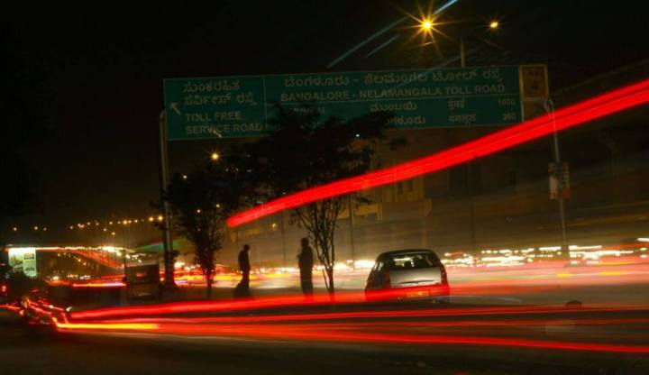 some-light-trails-in-the-night-bangalore-roads