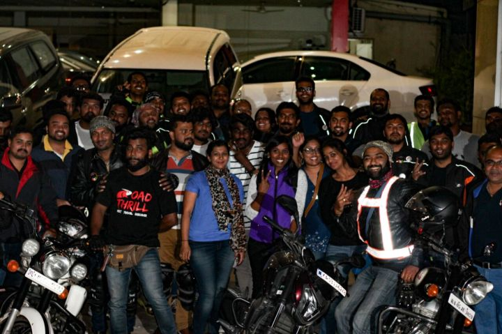 Road Thrill - The popular of all the Bangalore Motorcycle Clubs for Night Rides