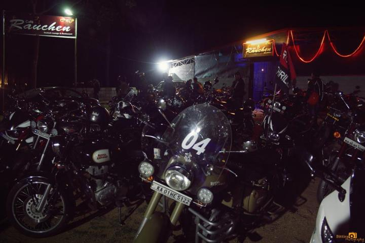 One of the nights at Bangalore Motorcycle Clubs